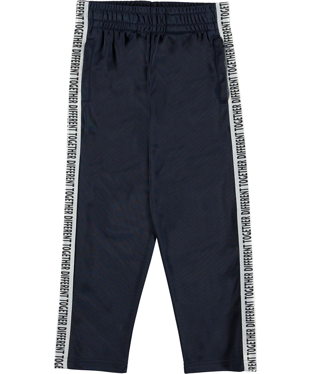 Altor - Infinity - Trackpants blue sporty trousers.