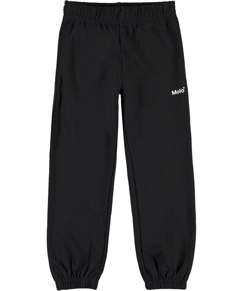 Am - Black - Black sporty sweatpants