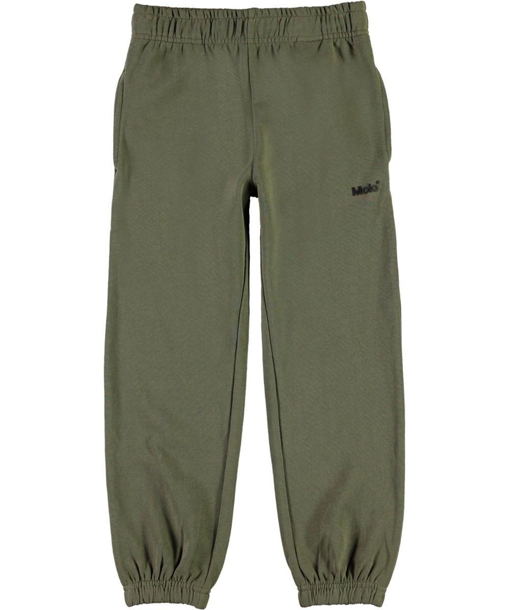 Am - Vegetation - Green sporty sweatpants