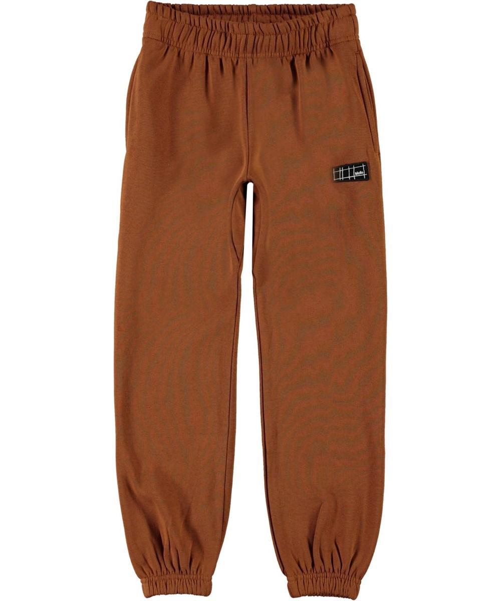 Ams - Iron - Brown organic sweatpants