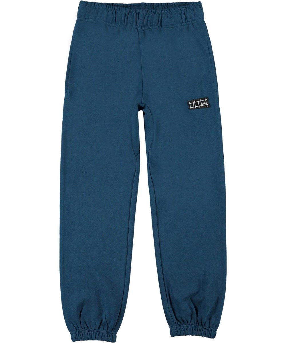 Ams - Sea - Blue organic sweatpants