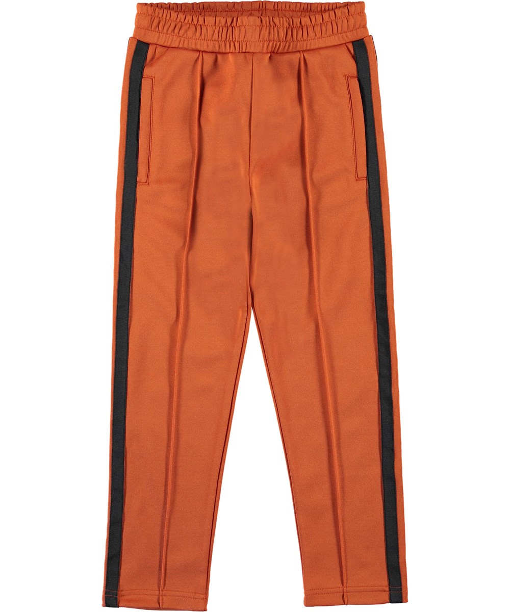 Anakin - Burnout - Trackpants orange sporty bukser.