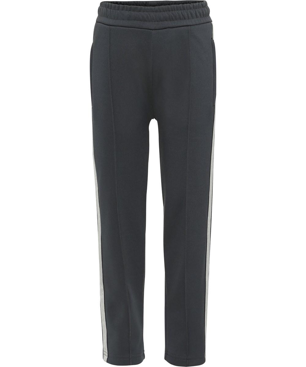 Anakin - Pirate Black - Black trousers with stripe.