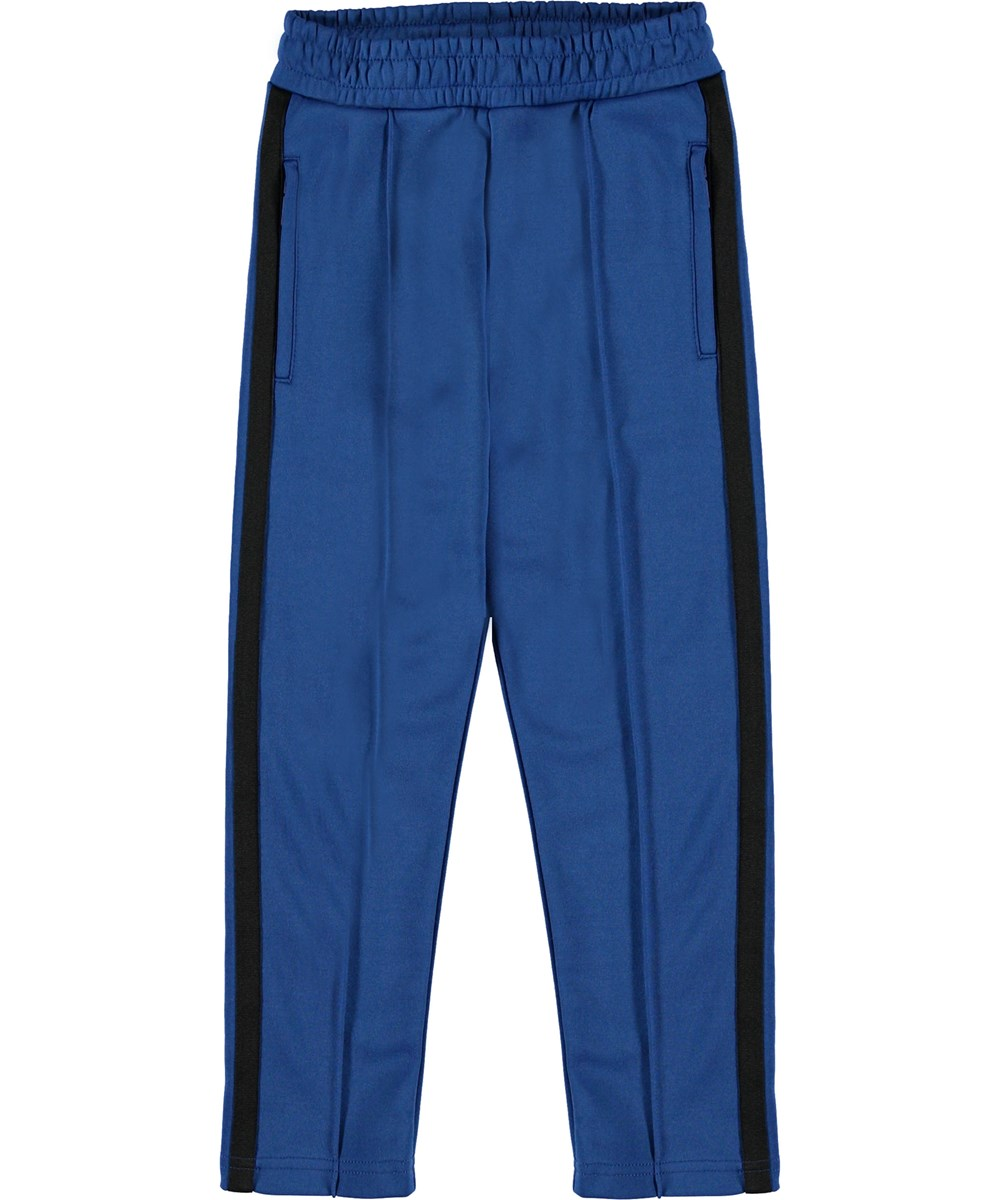 Anakin - True Blue - Track pants blue sporty trousers.