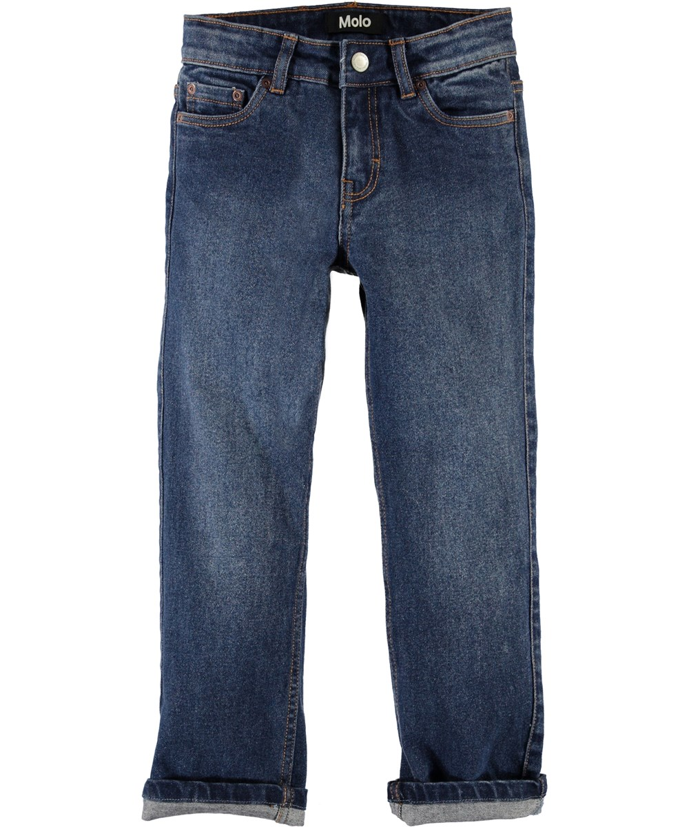 Andy - Rinse Wash - Wide blue jeans