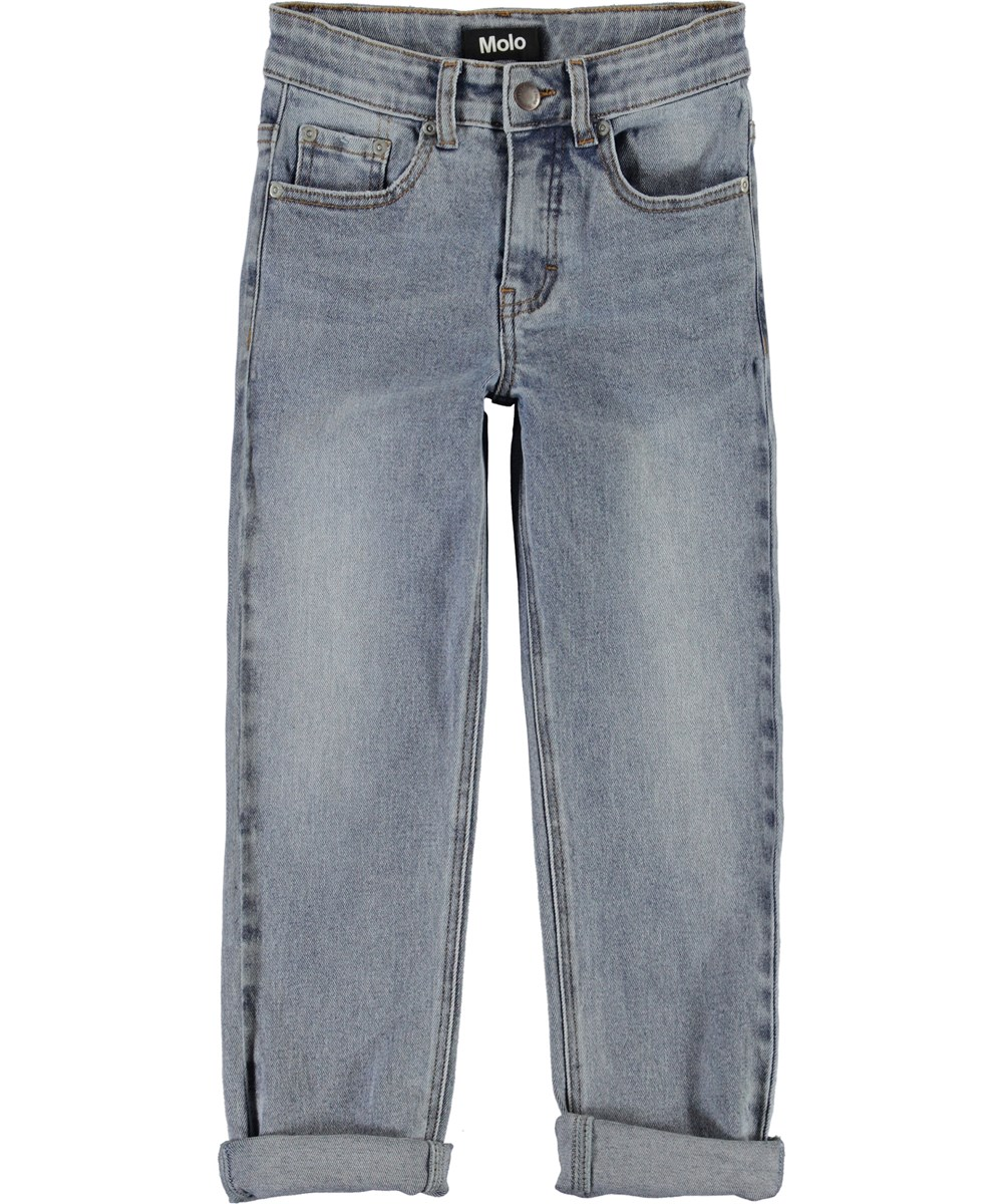 Andy - Stone Blue - Relaxed blue jeans