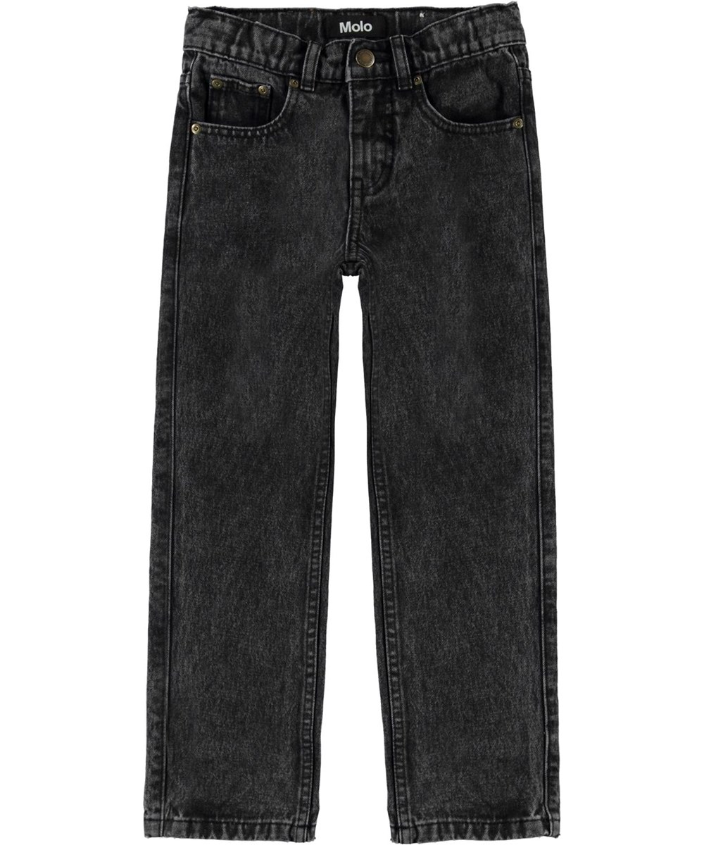 Andy - Washed Black - Black jeans in a loose fit