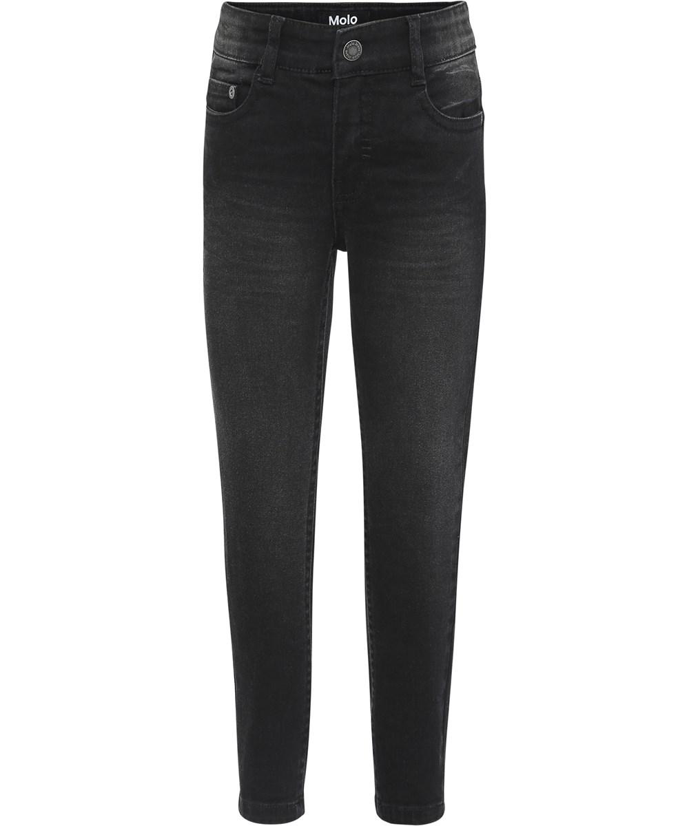 Anton - Washed Black - Black washed denim jeans.