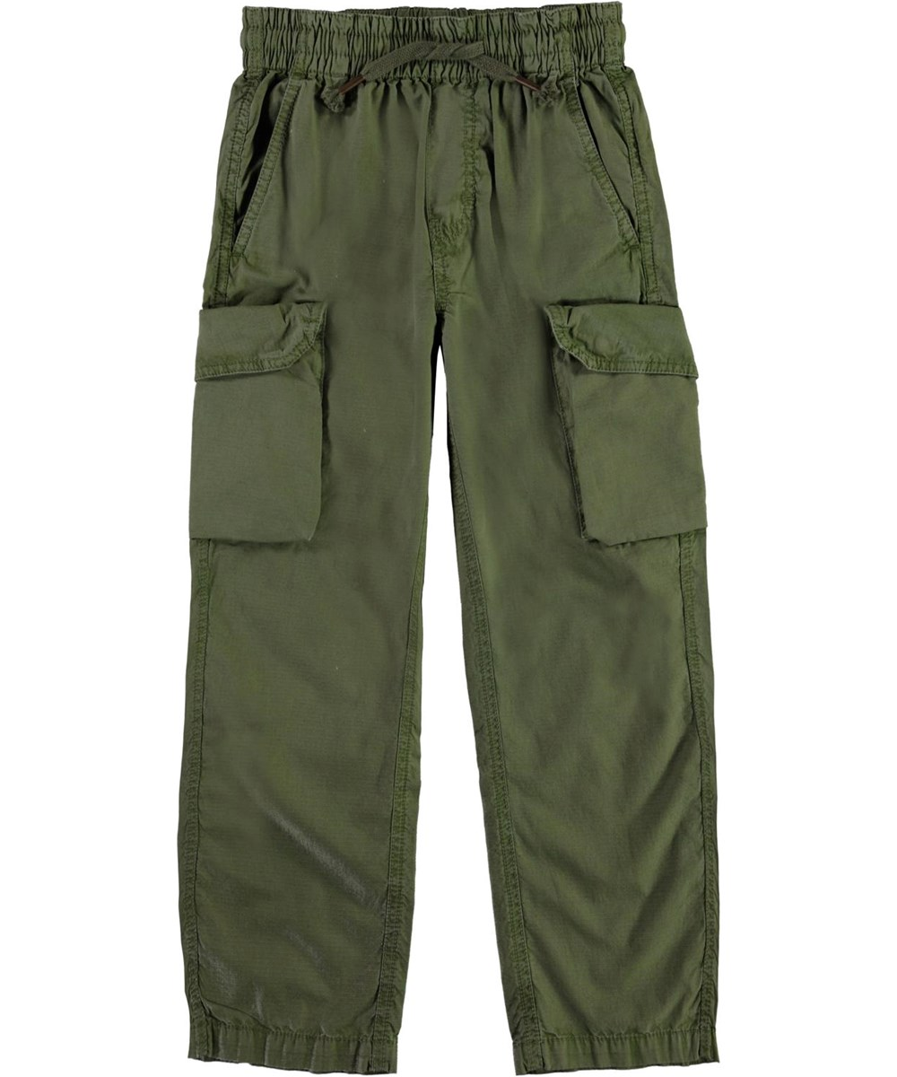 Argo - Vegetation - Army green cargo trousers