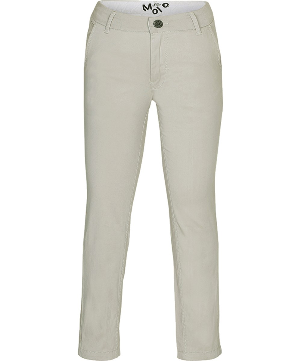 Asger - Laid Back - Sand coloured chinos