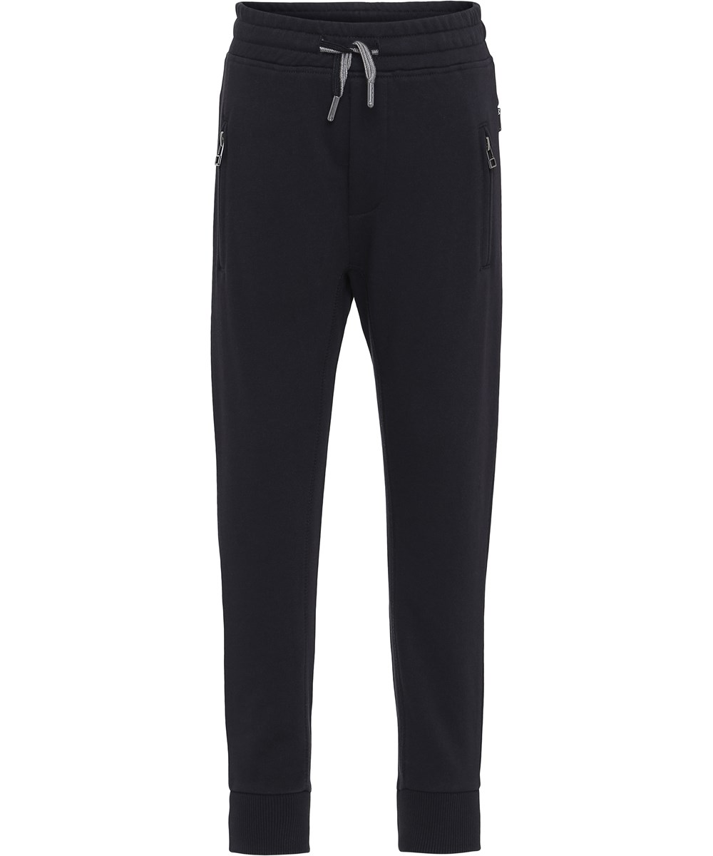 Ash - Black - Black sweatpants.
