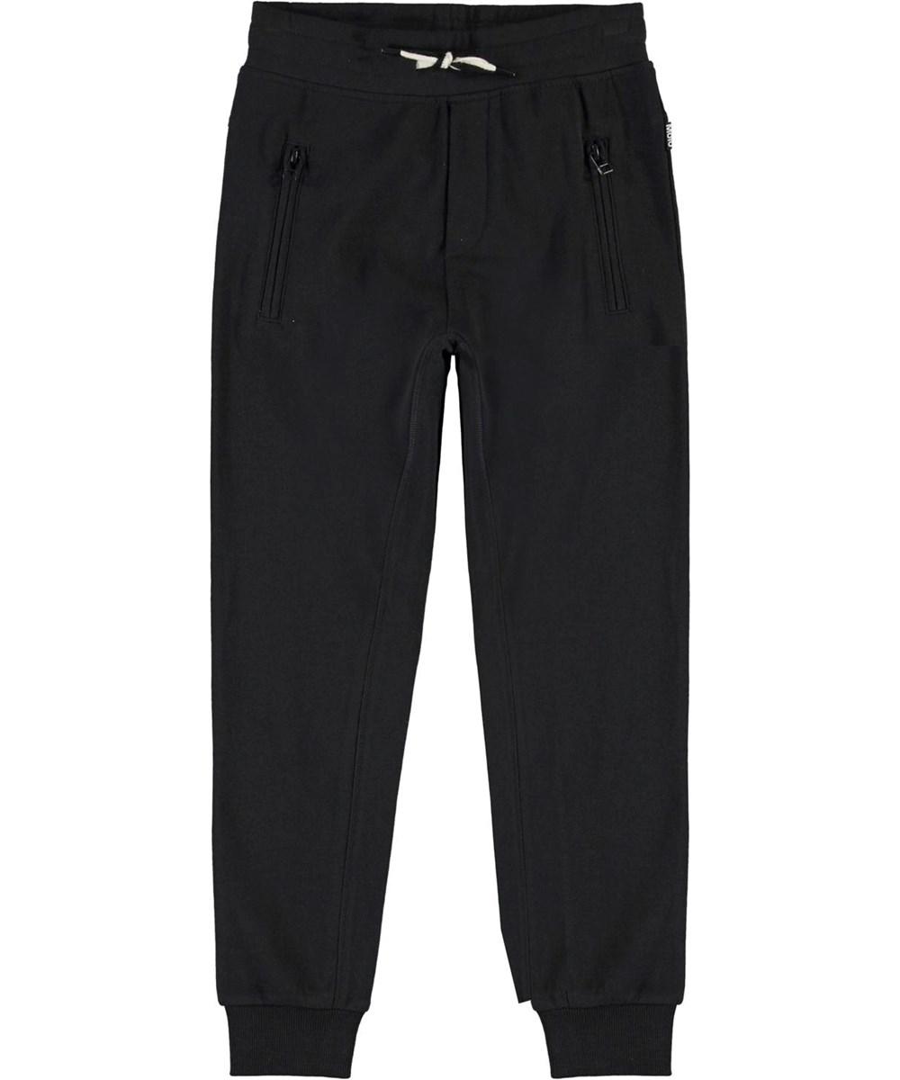 Ash - Black - Black organic sweatpants