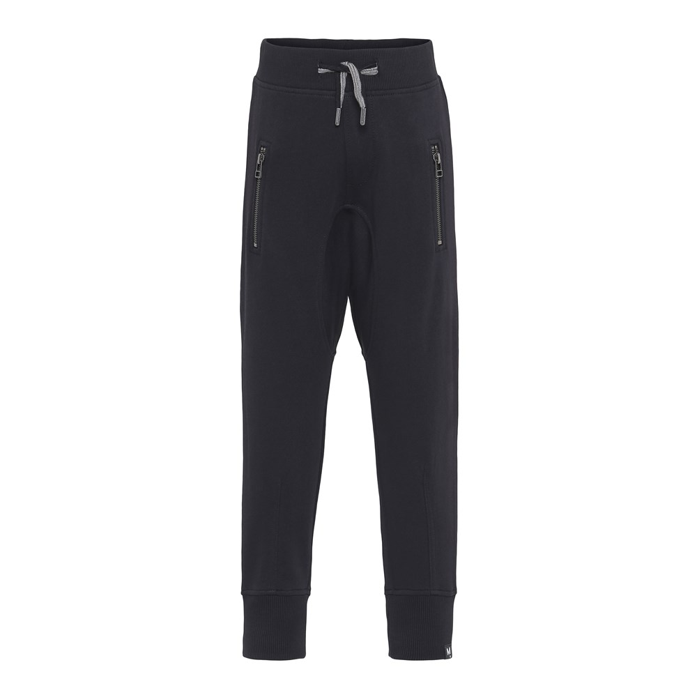 Ashton - Black - Black sweatpants.