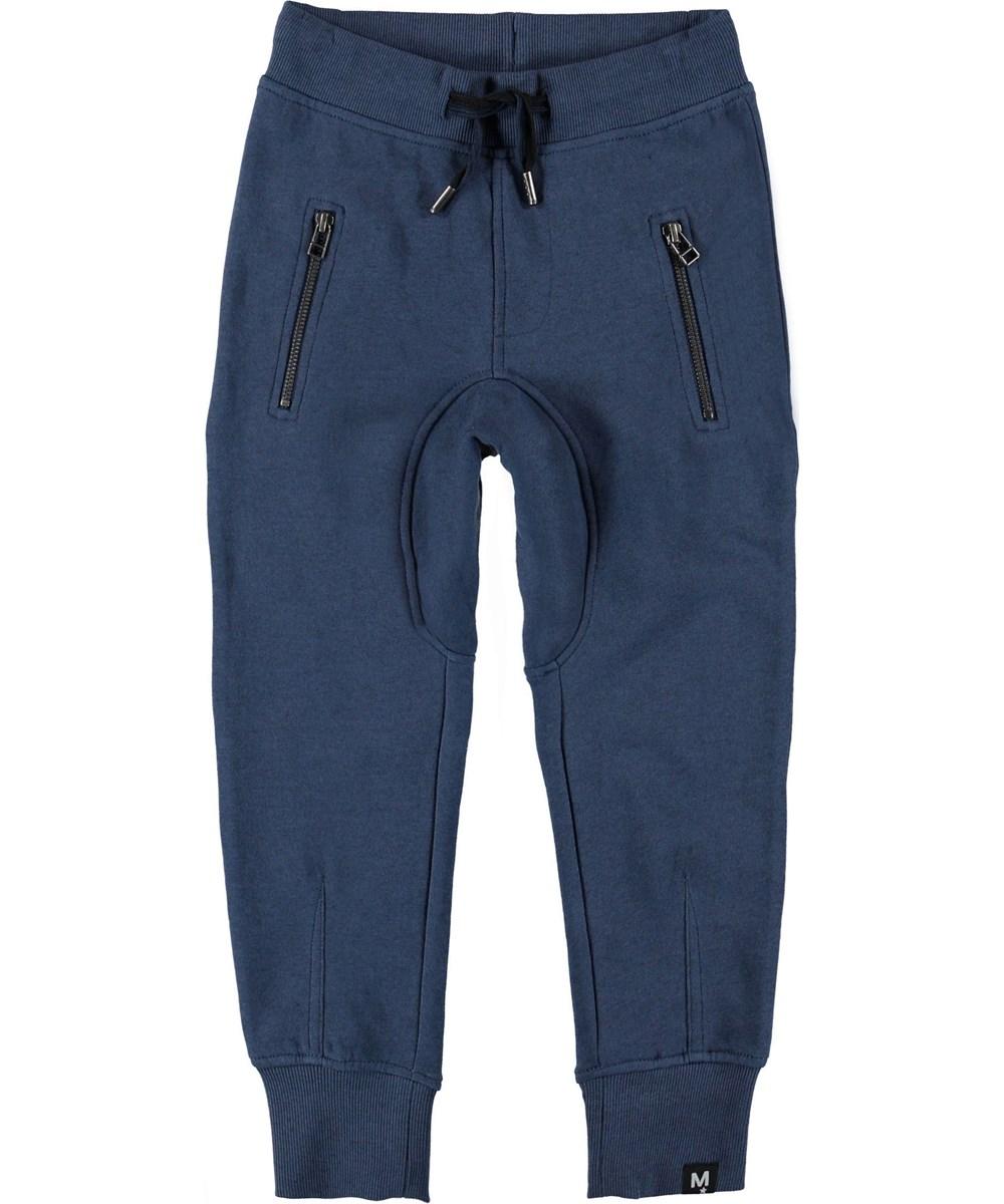 Ashton - Infinity - Sweatpants blue sporty trousers.