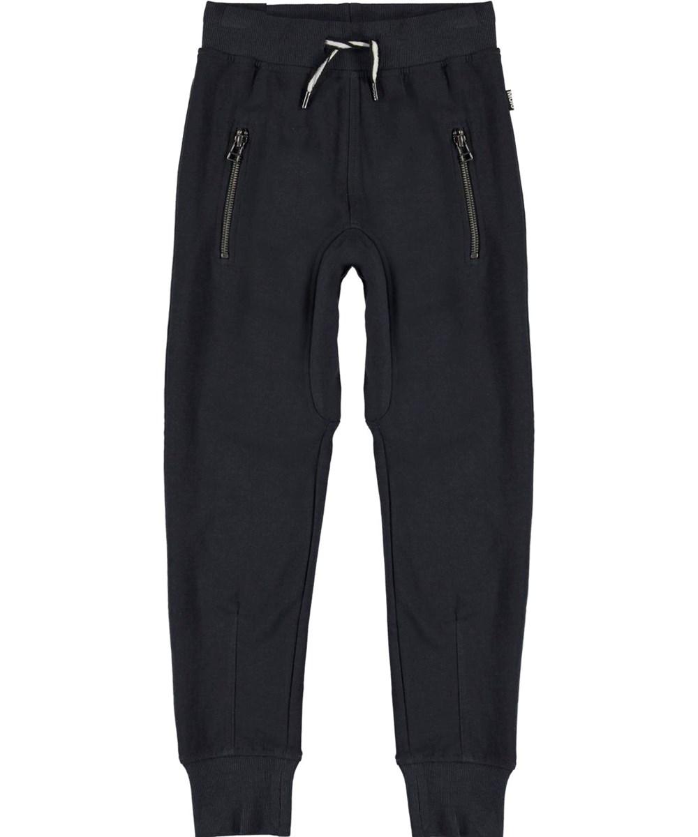 Ashton - Dark Navy - Comfortable blue sweatpants