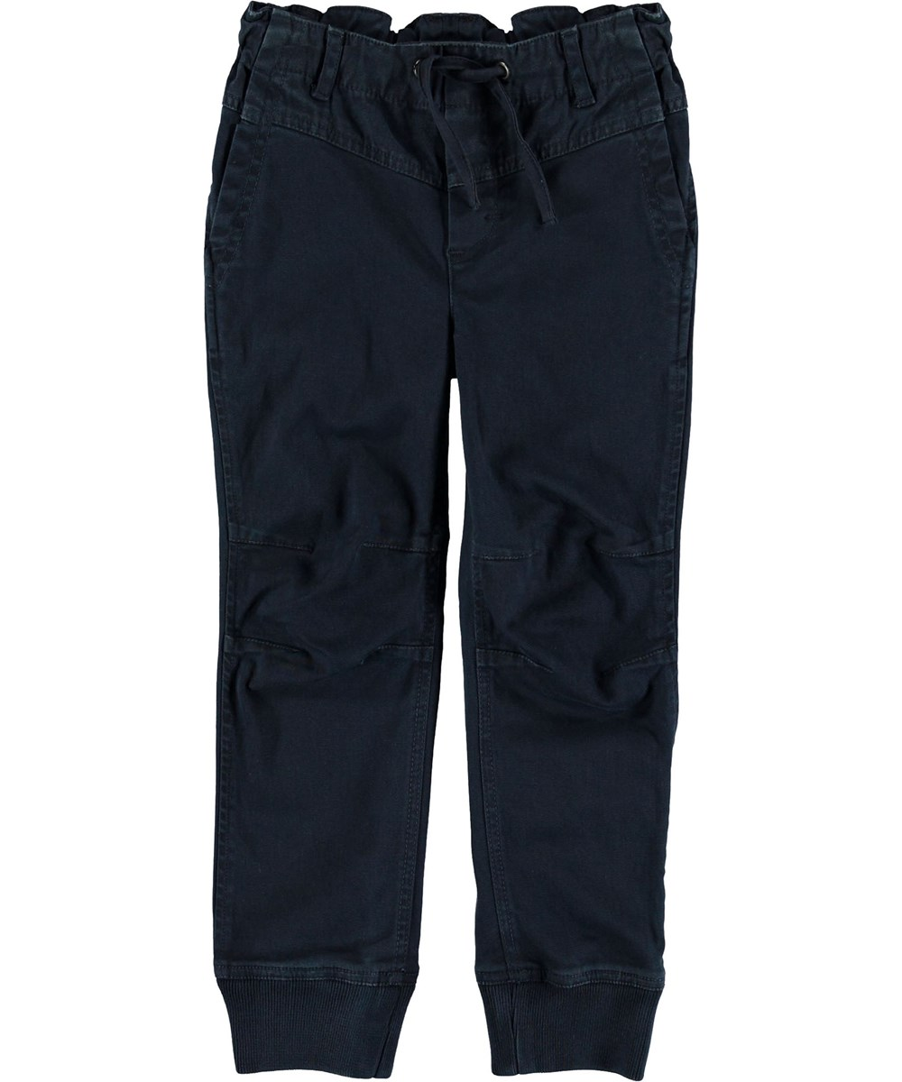 Atlan - Carbon - Blue trousers.