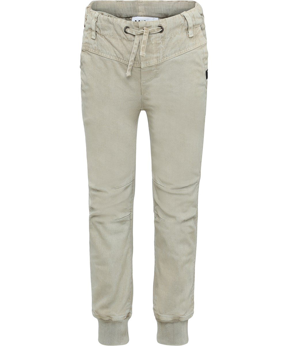 Atlan - Sand - Pants in sand colour.