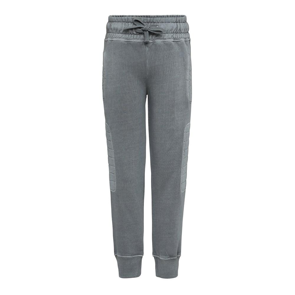 Atticus - Pewter - Grey melange sweatpants.