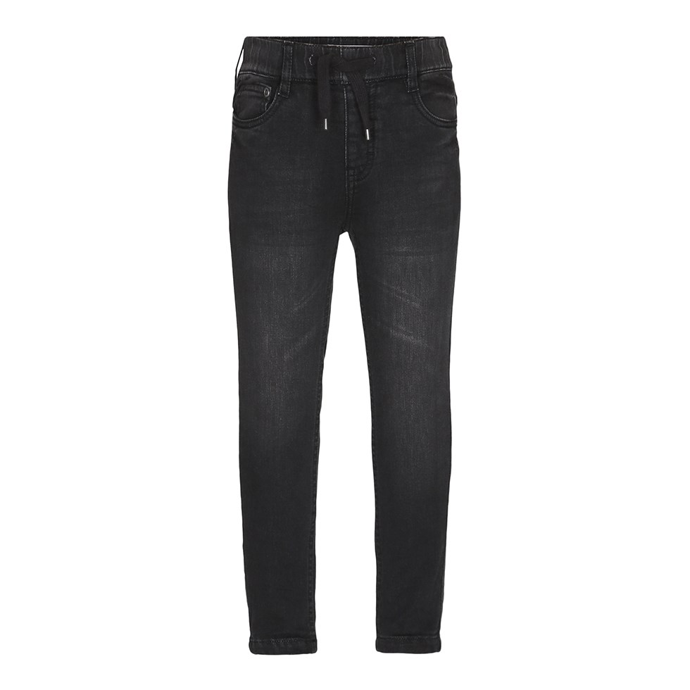 Augustin - Black Blast - Black jogg denim jeans in a washed look