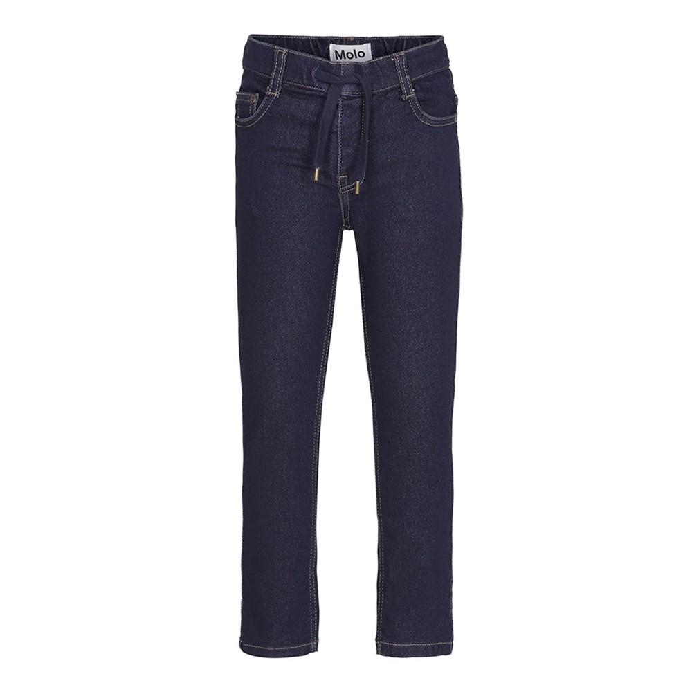 Augustin - Rinse Wash - Dark blue jogg denim jeans