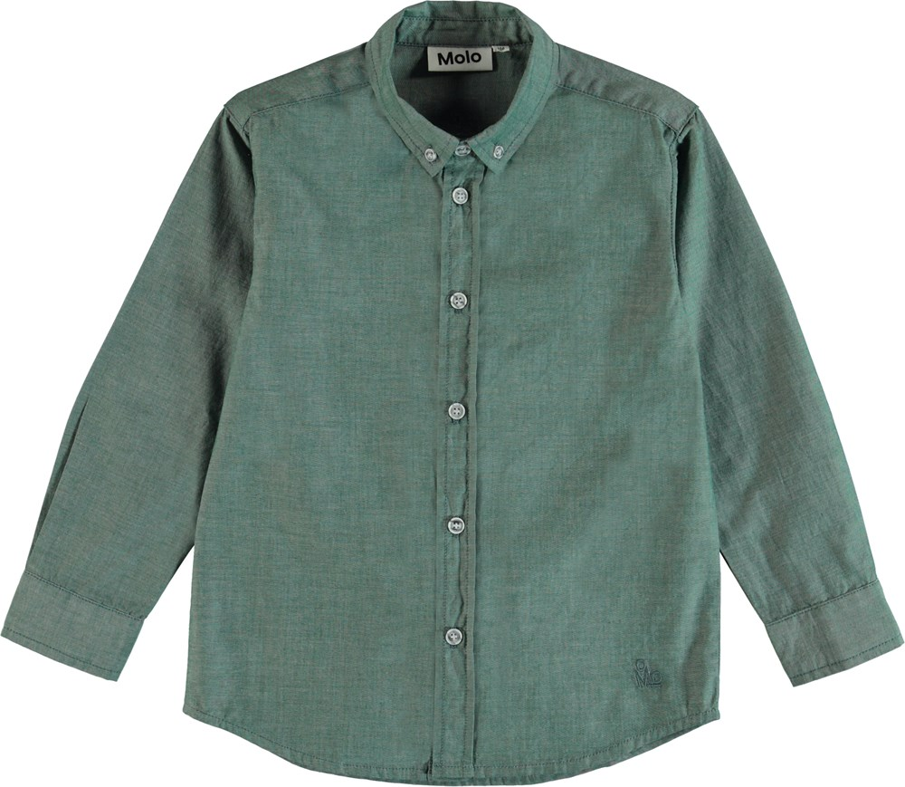 Rimmer - Galapagos Green - Classic shirt in green.