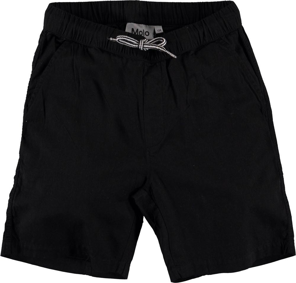 Adrian - Very Black - Black shorts