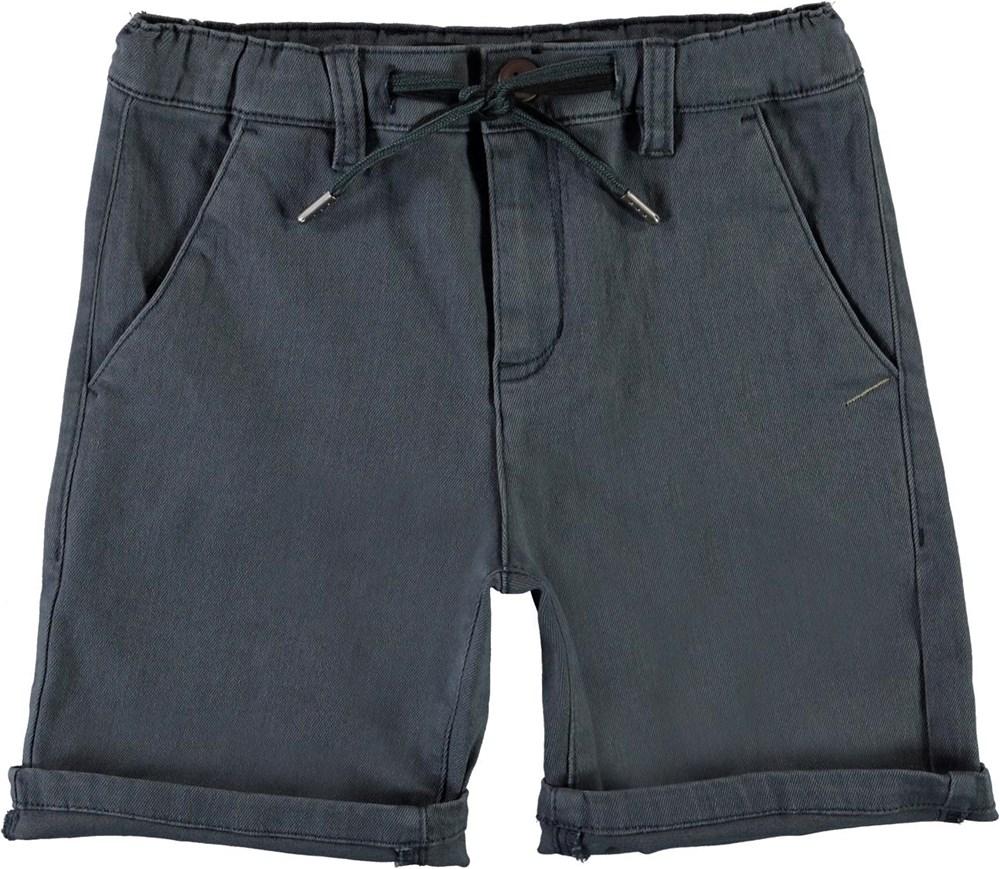 Ajvin - Summer Night - Blue chino shorts