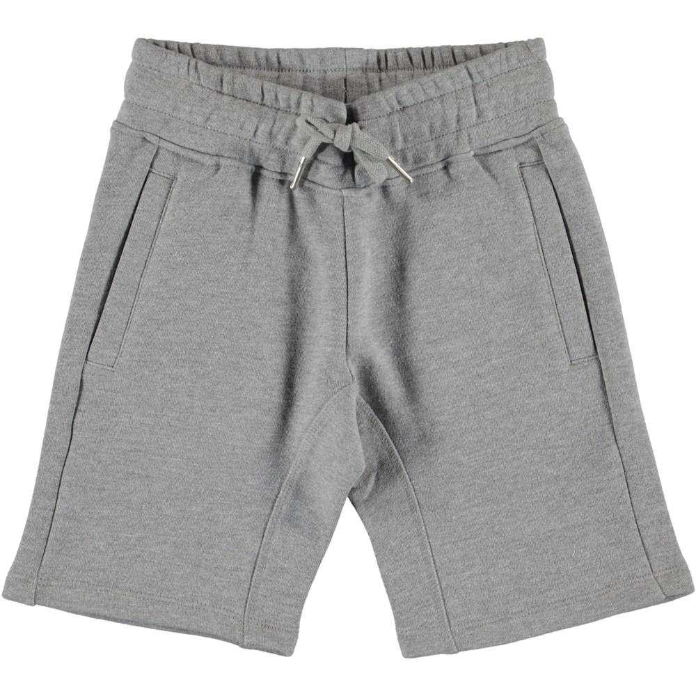 Akon - Grey Melange - Shorts - Dry Melange Grey