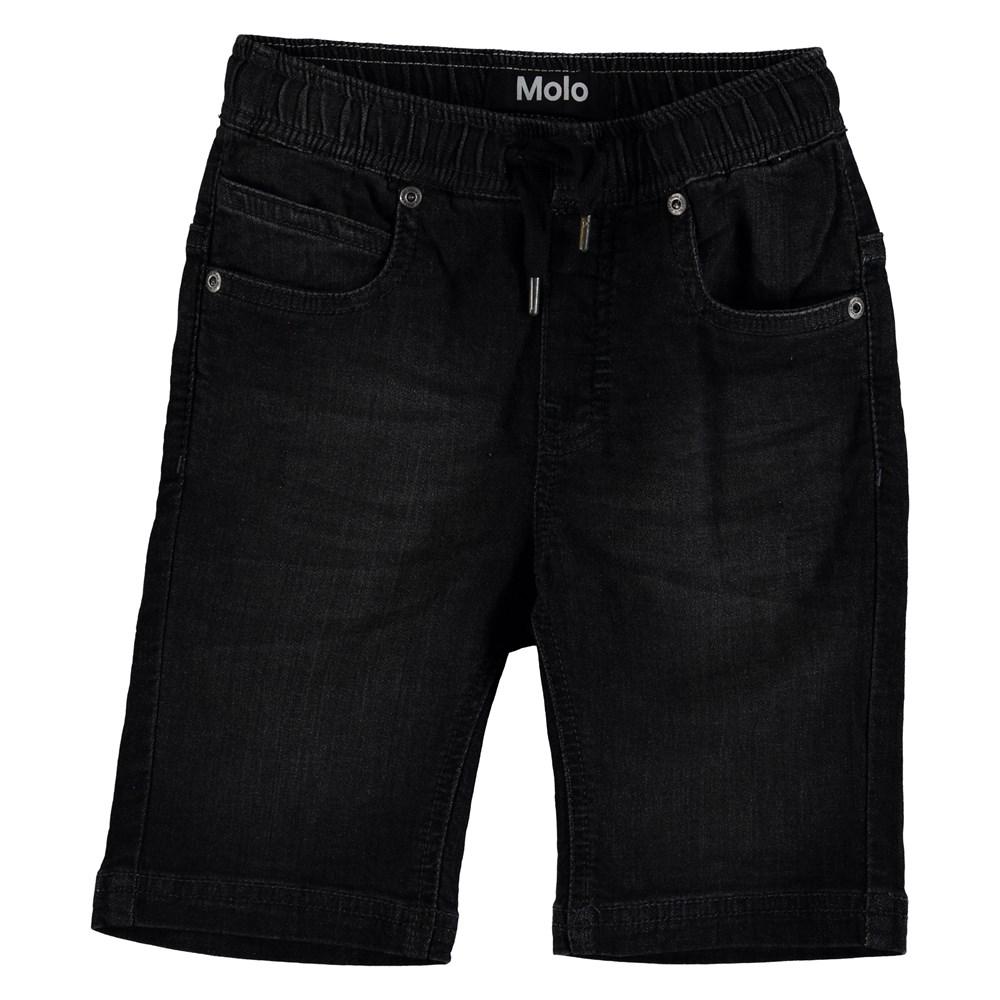 Ali - Charcoal Denim - Shorts - Charcoal Denim