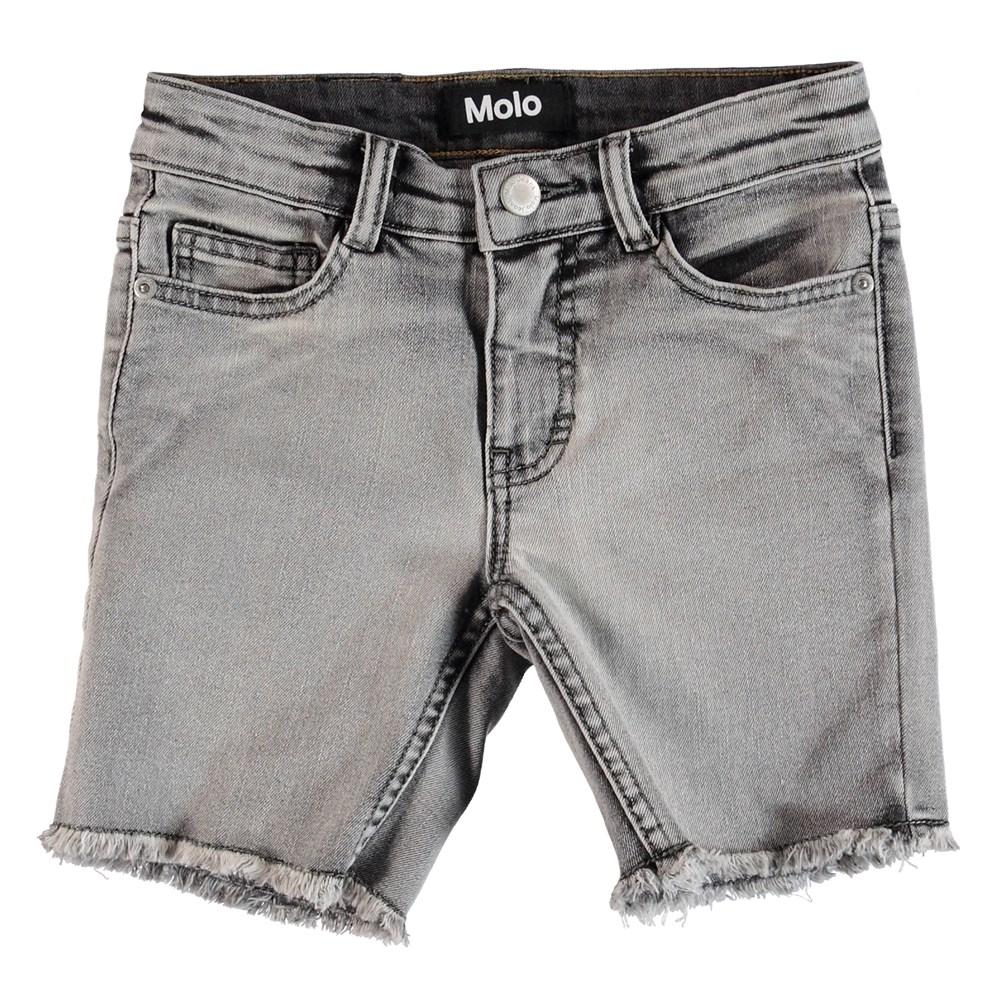 Alons - Grey Washed Denim - Shorts