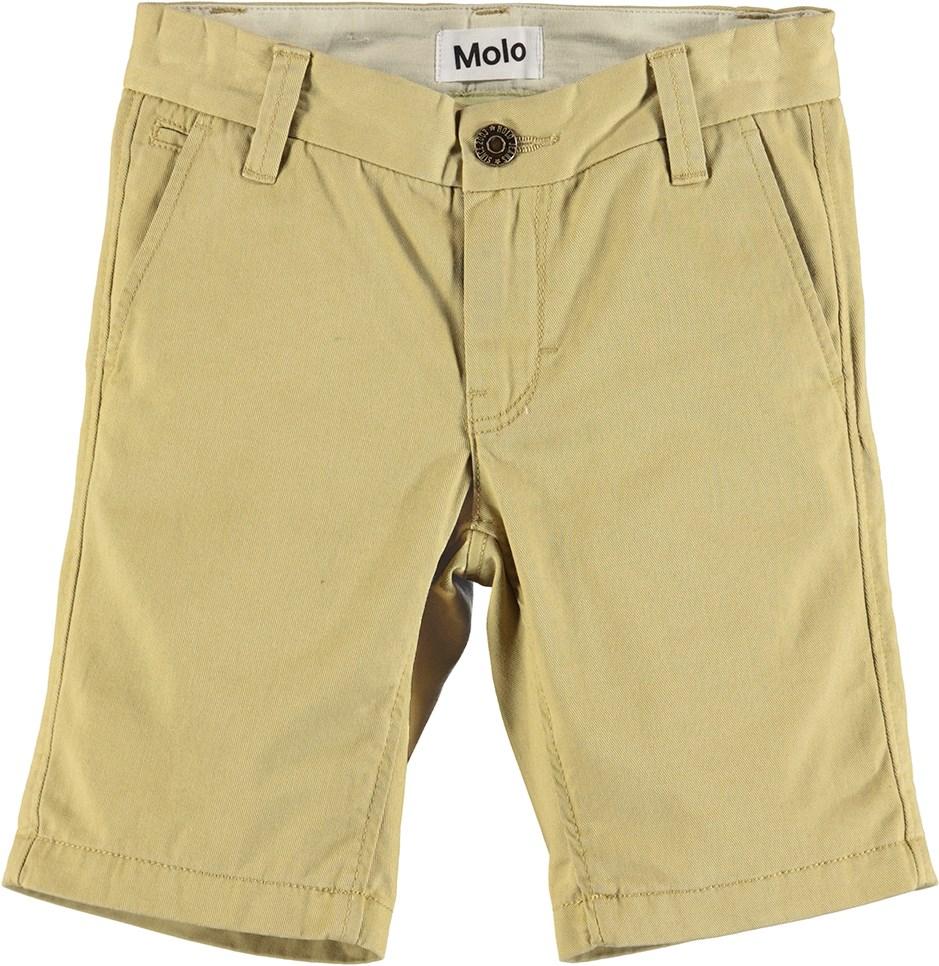 Asp - Khaki - Khaki chino shorts