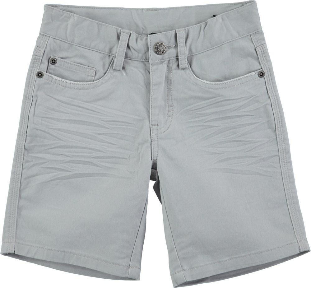 Avian - Alloy - Grey chino shorts