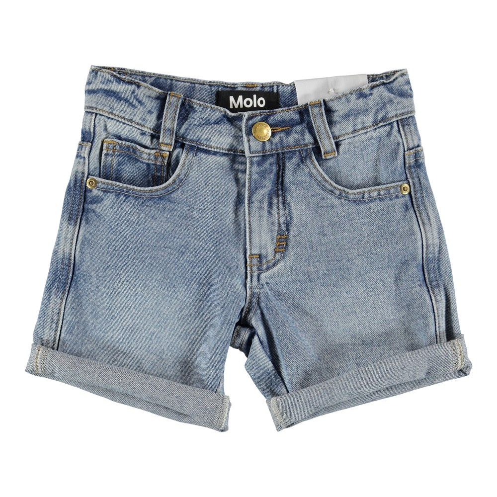Avian - Stone Blue - Shorts - Denim