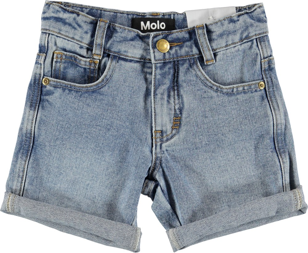 Avian - Stone Blue - Shorts - Denim
