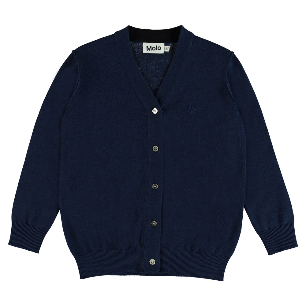 Basel - Sailor - Knit cardigan with buttons.