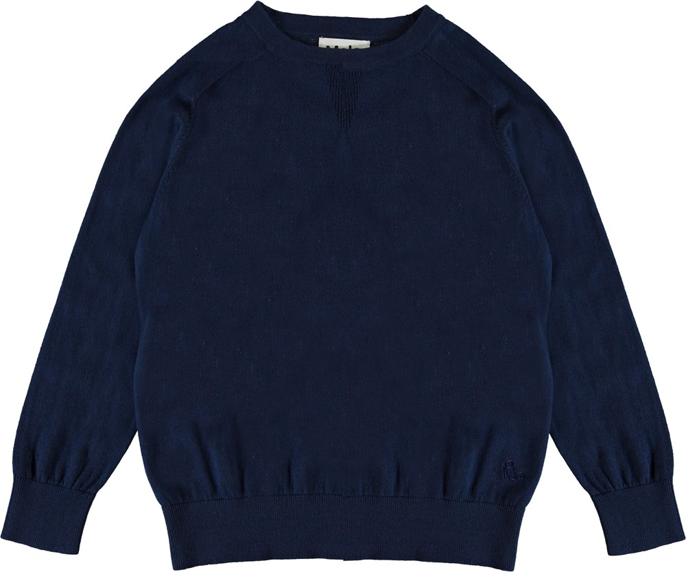 Billy - Sailor - Knit pullover with crewneck