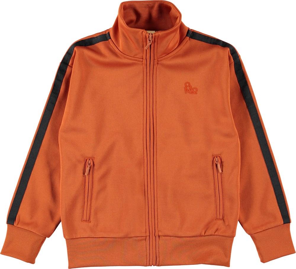 Maboo - Burnout - Orange sporty jacket.