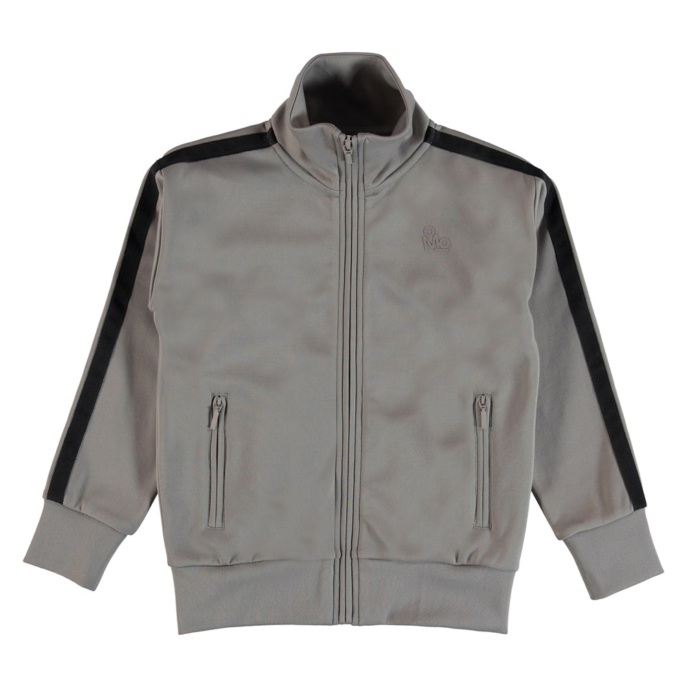 Maboo - Civilization - Training jacket with stripes on the sleeves.