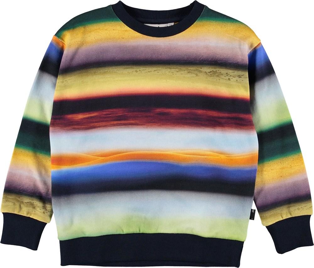 Madsim - Cosmic Rainbow - Striped cosmic rainbow sweatshirt