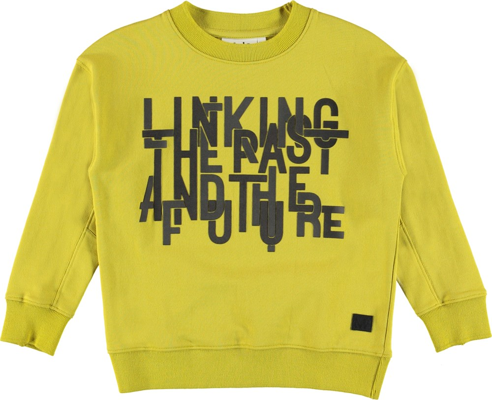 Marley - Anglesite - Sweatshirt with rubber text.