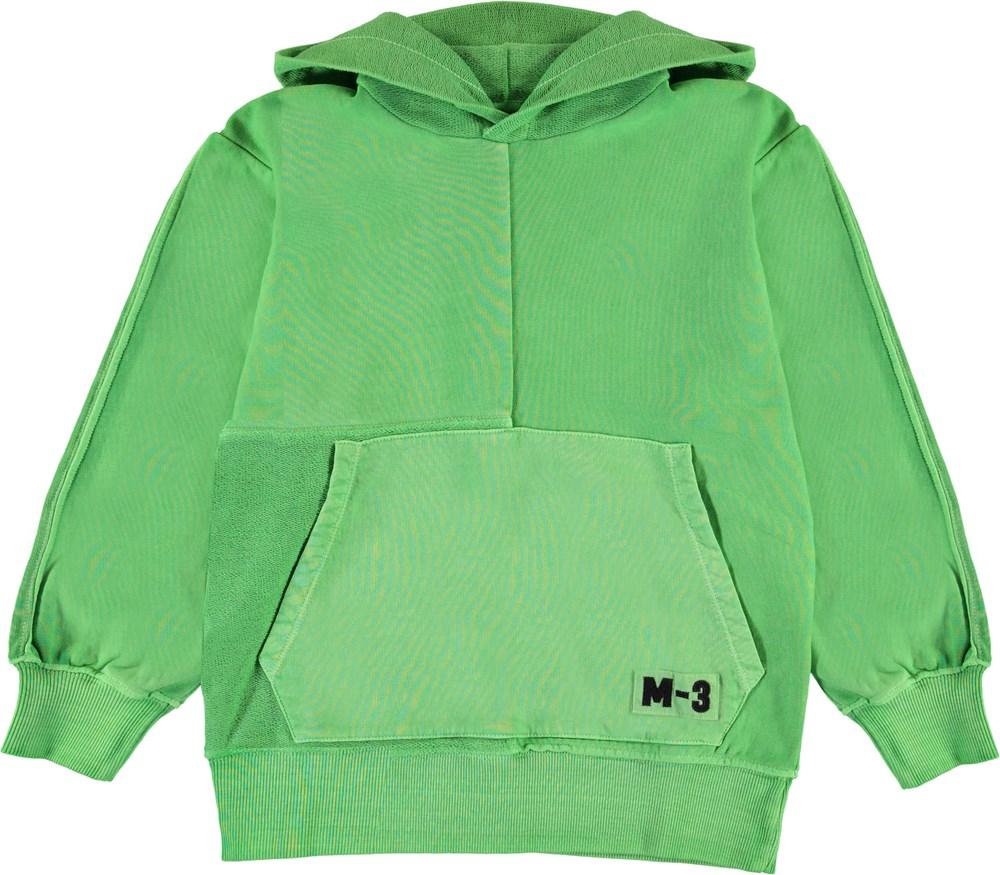 Meqo - Future Green - Green hoodie