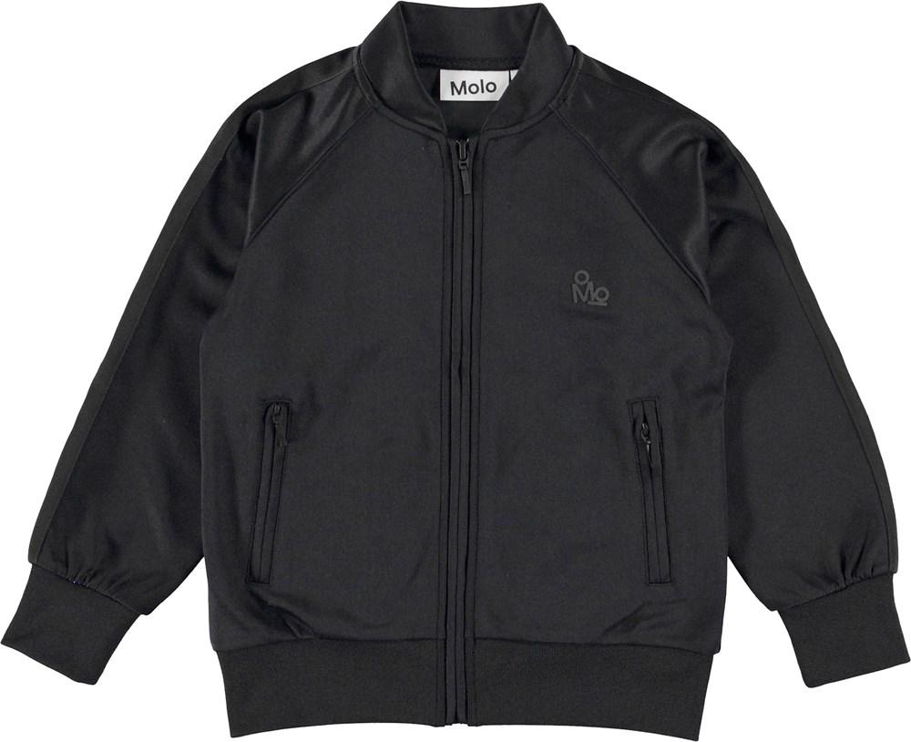 Merrin - Black - Black sporty jacket.