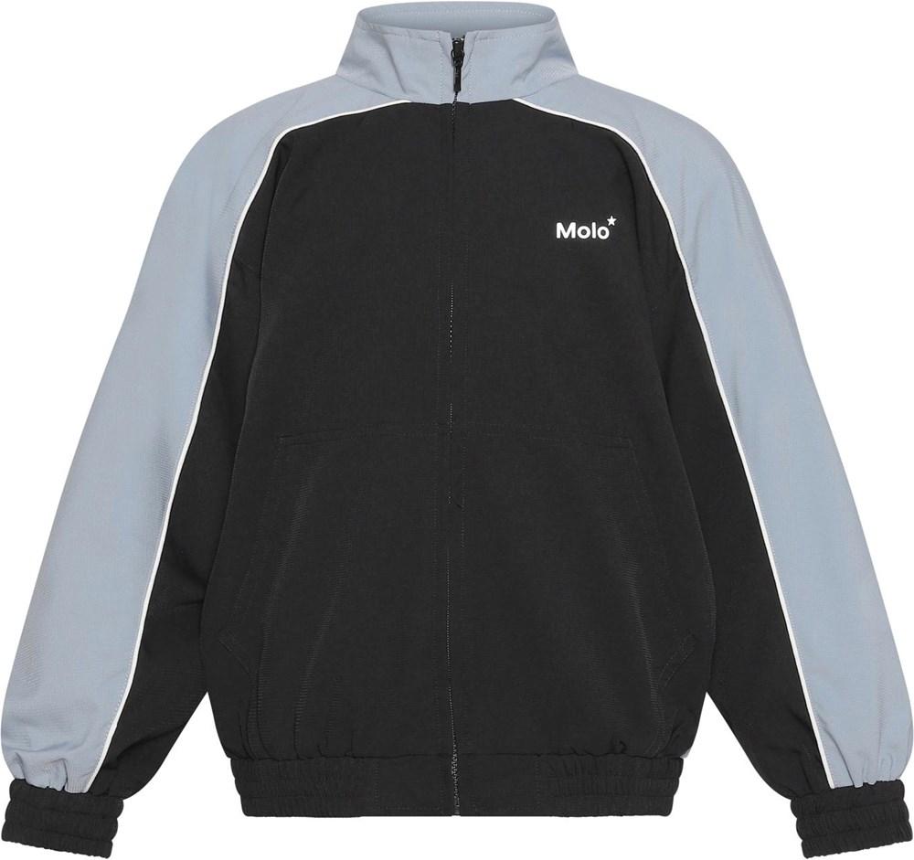 Mex - Aero - Black jacket with blue sleeves