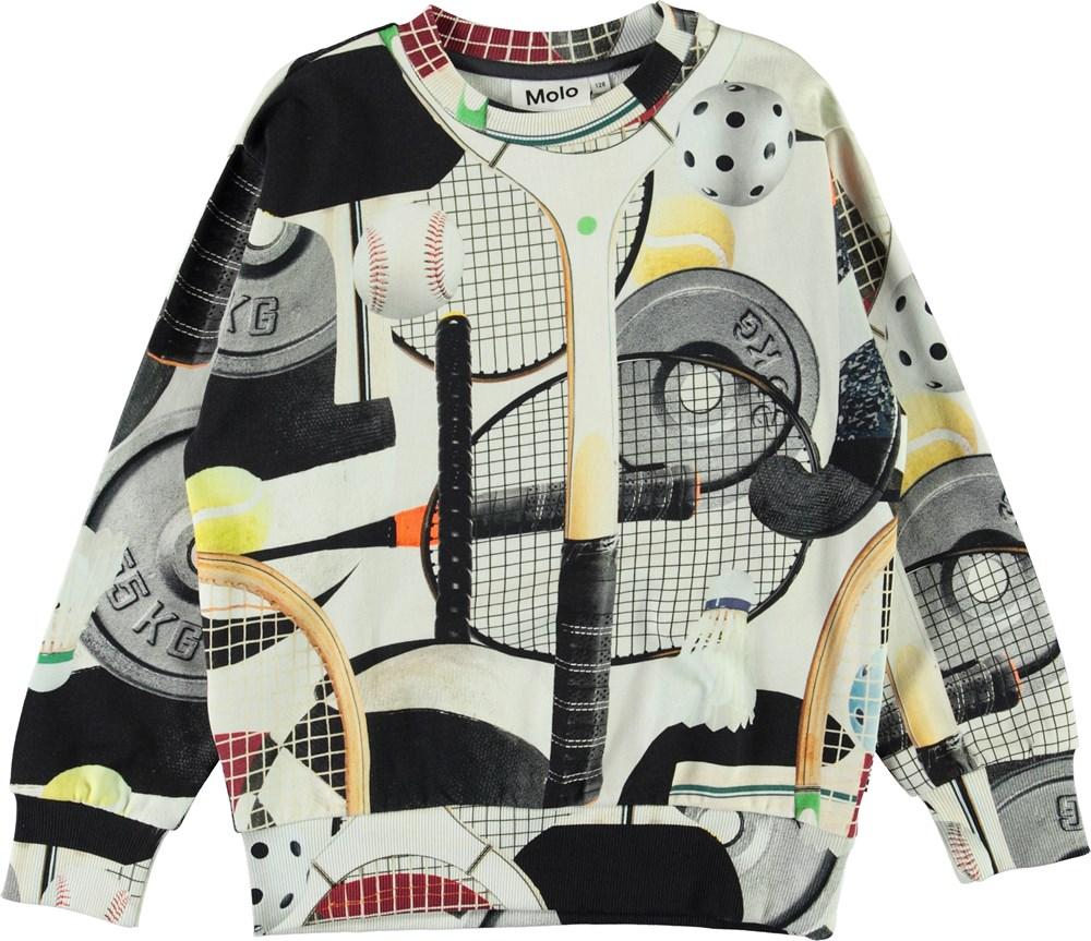 Mik - Sports Gear - Organic sweatshirt with sports gear