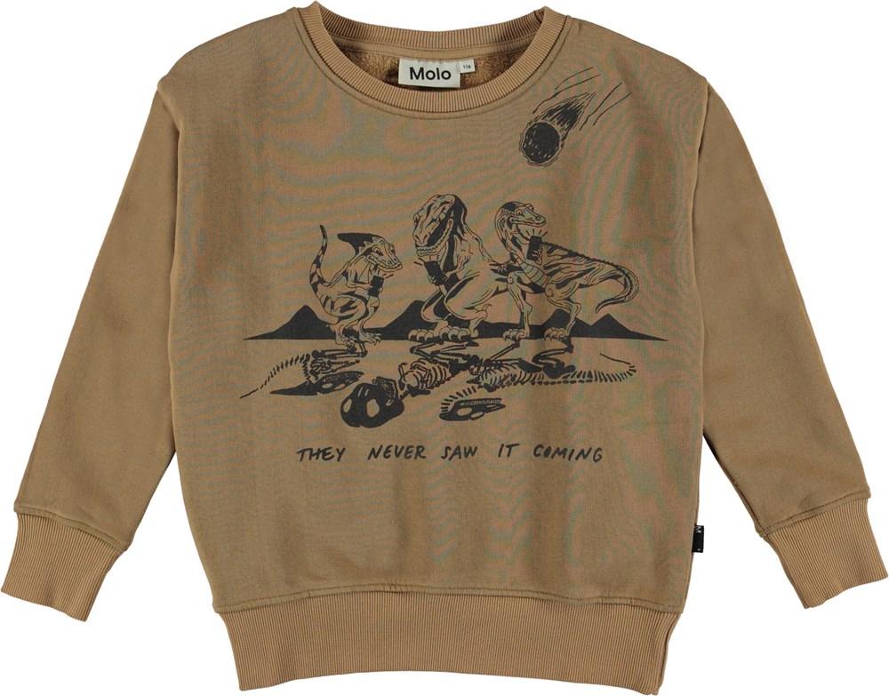 Murphy - Emerge - Sweatshirt dinosaur print.