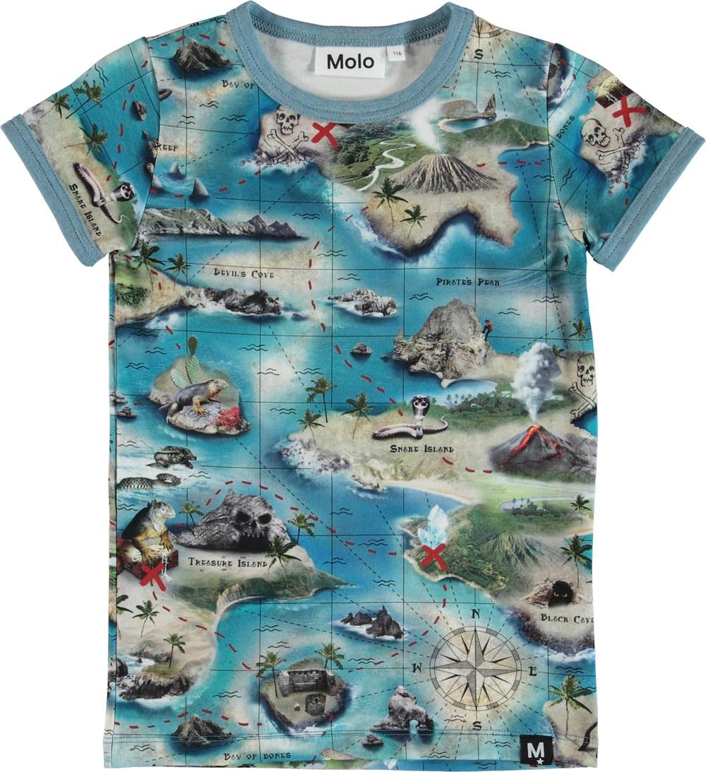 Rad - Treasure Map - T-Shirt S