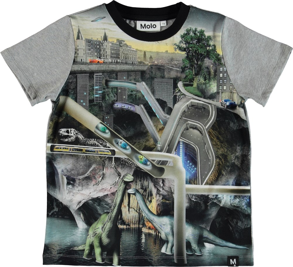 Raddix - Over And Under - T-shirt with science fiction print.