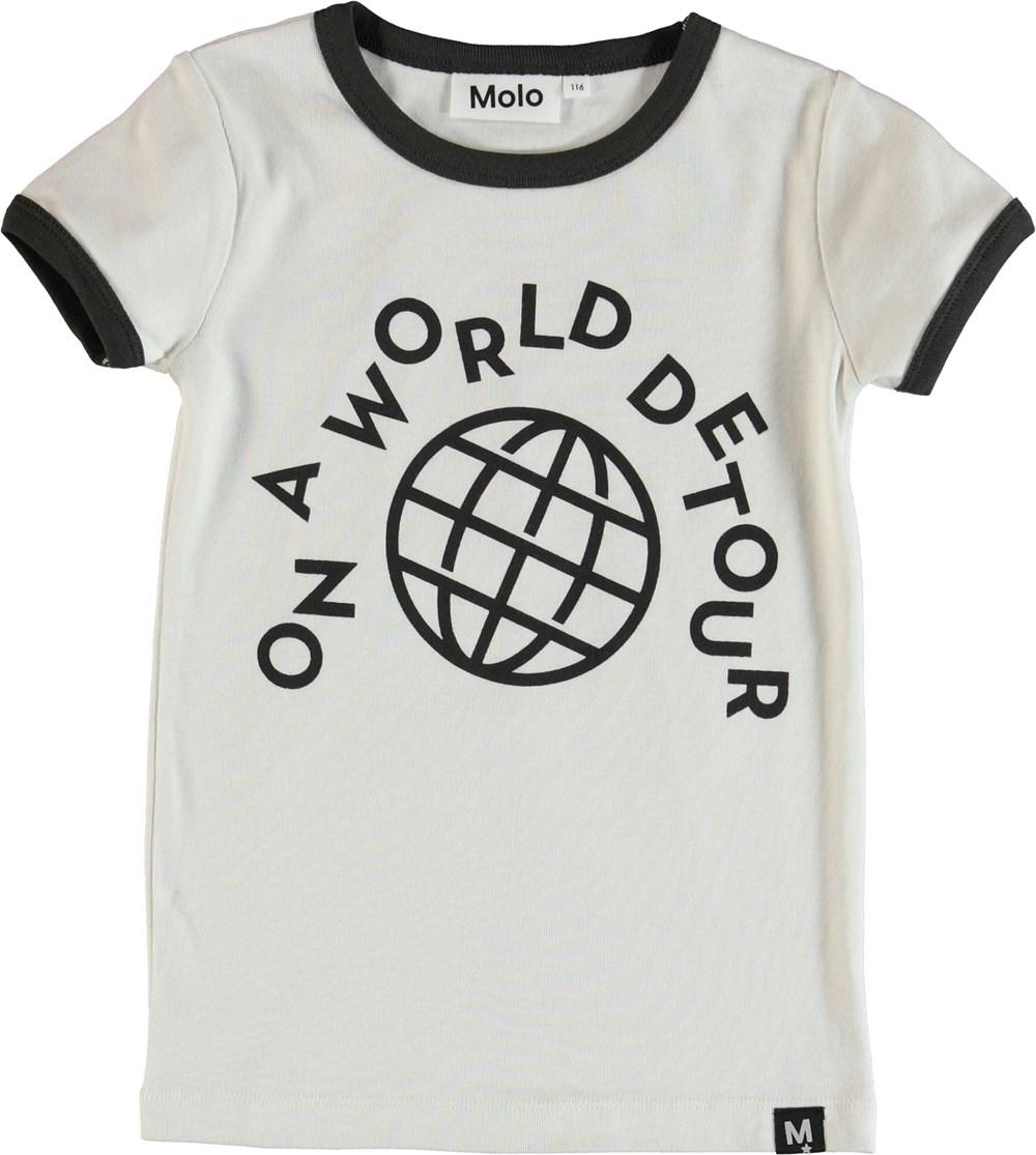 Radio - Dirty White - T-Shirt - White