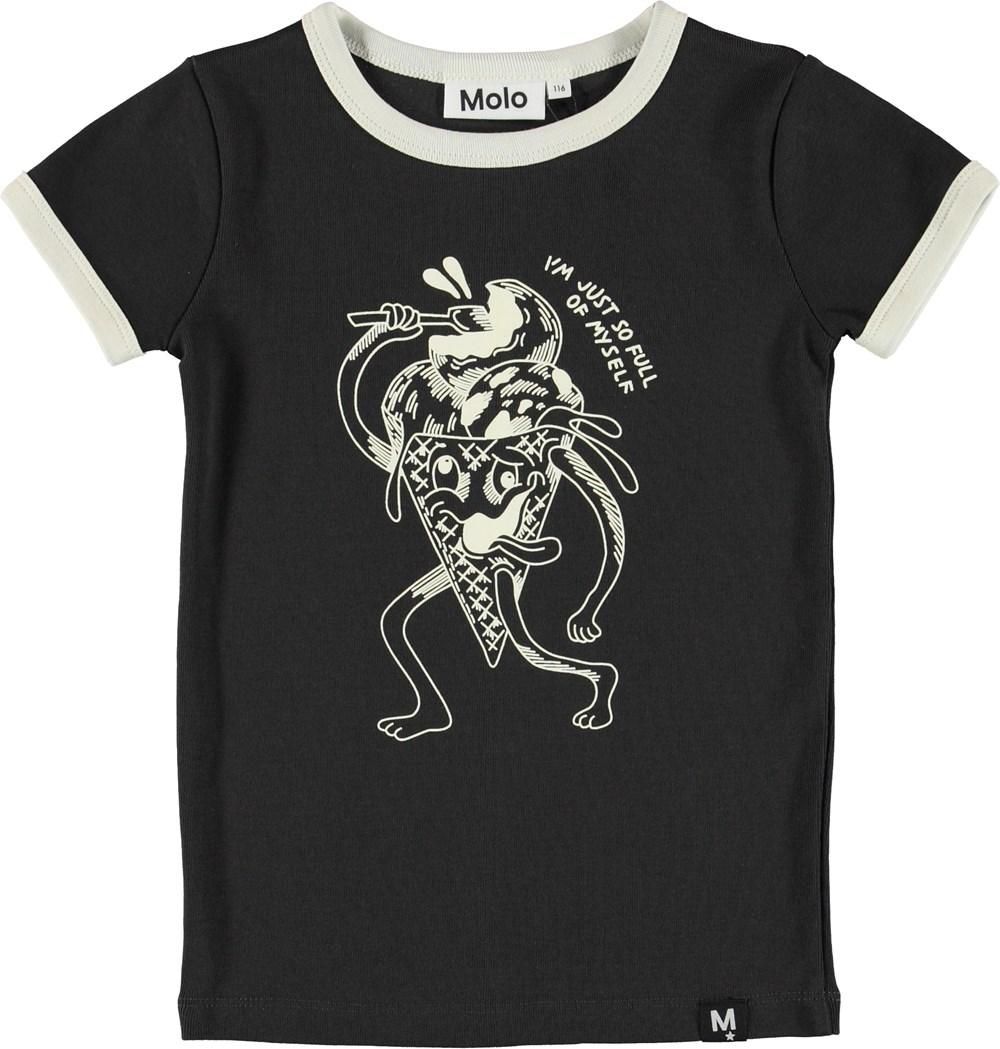 Radio - Pirate Black - T-Shirt - Black