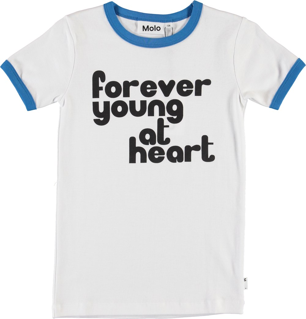 Radio - White - Forever young t-shirt